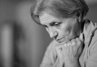 La depressione negli anziani